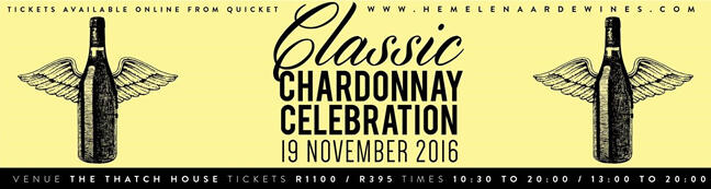 A banner image for the Classic Chardonnay Celebration 2016