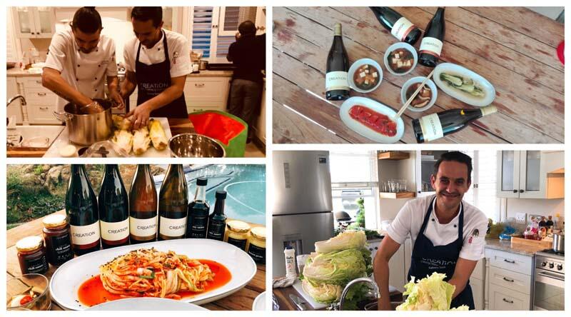 Creation Chefs Doing The Kimchi Creation Wines