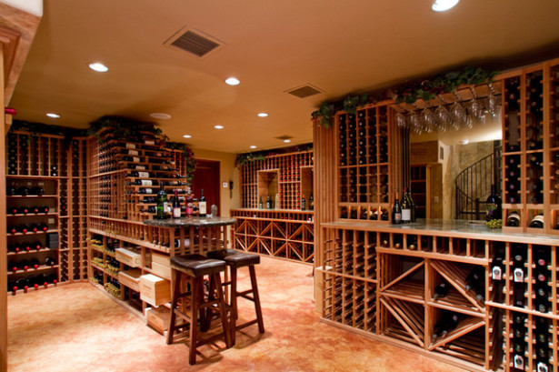 Collecting fine wine starting a cellar creation wines for Wine cellar lighting ideas